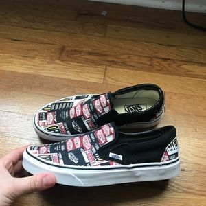 Slip On Vans Low Tops